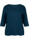 T-shirt with 3/4 sleeves