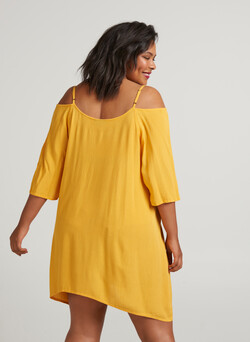 Tunika med off-shoulder